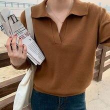 Maglioni Pullover da donna Basic autunno inverno maglione caldo spesso maglione lavorato a maglia manica lunga colletto rovesciato moda