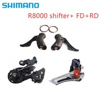 SHIMANO Ultegra R8000 2x11 Speed Groupset Kit Shifter Derailleur Front+Rear SS / GS update 6800