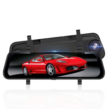 Rearview Mirror Driving Recorder 10 Inch Full Screen Driving Recorder 12 Million Hd Night Vision Double Lens Reversing