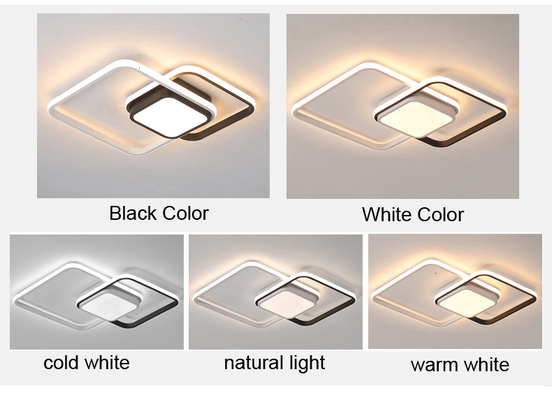 H9f2547932d4c403fbd0b4a6c7c3776f3z New design LED Ceiling Light For Living room Dining Bedroom luminarias para teto Led Lights For Home lighting fixture modern