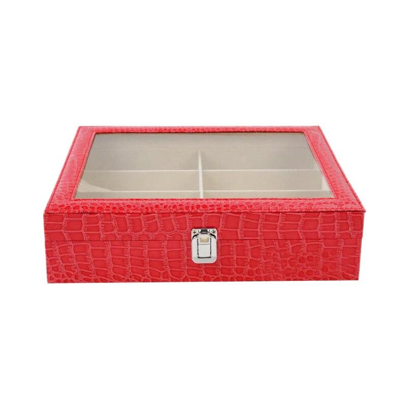 8 Grid Sunglasses Glasses Jewelry Storage Display Case Box Organizer New