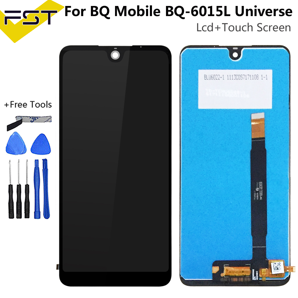 6.0'' For <font><b>BQ</b></font> Mobile <font><b>BQ</b></font>-6015L <font><b>BQ</b></font> <font><b>6015</b></font> Universe BQ6015L LCD Display Screen+Touch Screen Digitizer Assembly Spare Parts+Tools image