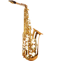 High Quality Eb Saxophone Falling Tune E Sax Gold With Case Gloves Reeds Mouthpiece Free Shipping