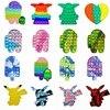 Push Bubble Fidget Toys Pop Squishy Sensory Antistress Toys Adult Child Educational Squeeze Bubble Stress Relief Relieve Autism