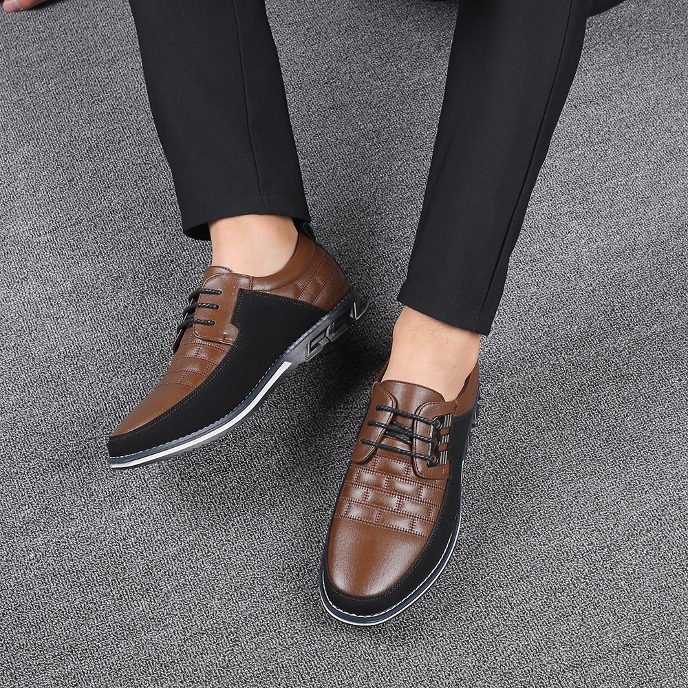 H9f25e8c477d549d2ad5e53a08f3b91eci 2019 New Big Size 38-48 Oxfords Leather Men Shoes Fashion Casual Slip On Formal Business Wedding Dress Shoes Men Drop Shipping