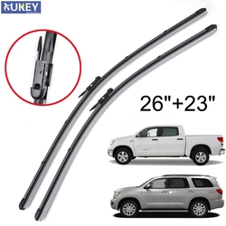 Xukey Windshield Wiper Blades For Toyota Tundra Sequoia Front Window 2008 2009 2010 2011 2012 2013 2015 2016 2017 2018 26