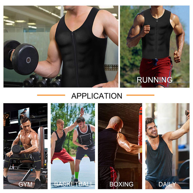 Slimming Belt Belly Men Slimming Vest Body Shaper Neoprene Abdomen Fat Burning Shaperwear Waist Sweat Corset Dropshipping 1