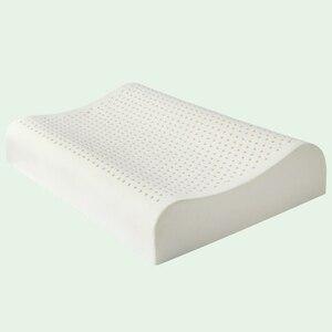 Image 5 - Ортопедическая подушка для сна GIANTEX, подушка из латекса для массажа шеи