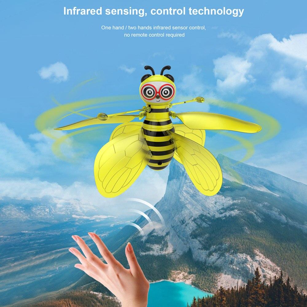 Brinquedo voador rc animal rc abelha indução