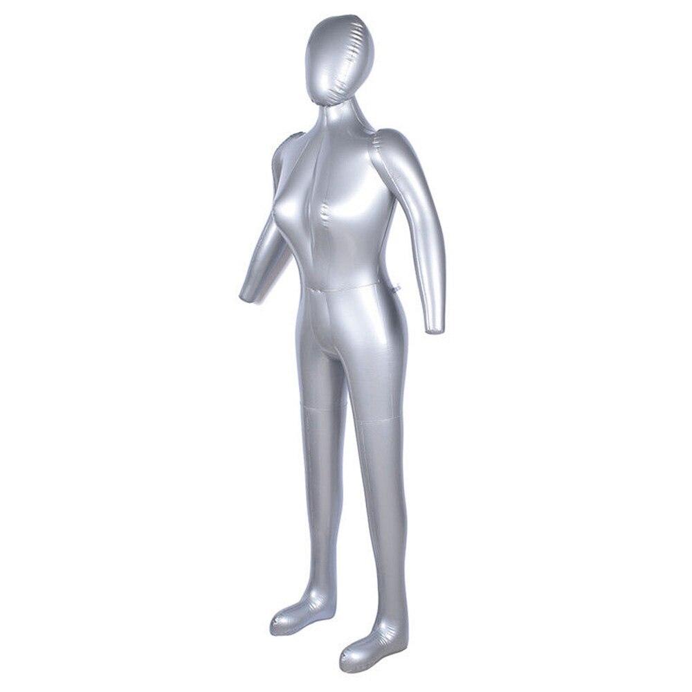 Nuevo Modelo de Maniquí de mujer de cuerpo completo modelo inflable de PVC muestra de ventana Venta caliente 2019 mujer 170cm muñeca inflable ¡caliente! Pelo de 60cm con cabeza de maniquí, peluquería, modelo de maniquí para mujer, cabeza de maniquí con pinza, peluca roja, pelo largo