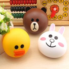 Mini Contact Lens Case Box Travel Kit Mini Eyewear Accessories Cartoon Duck Design Contact Lens Box Case Holder Container Case(China)
