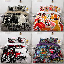 3D Abstract Duvet Cover Pillowcases 2pcs Single 3pcs Twin Full Queen King Size Soft Bedding Sets Home Textiles All Seasons Used