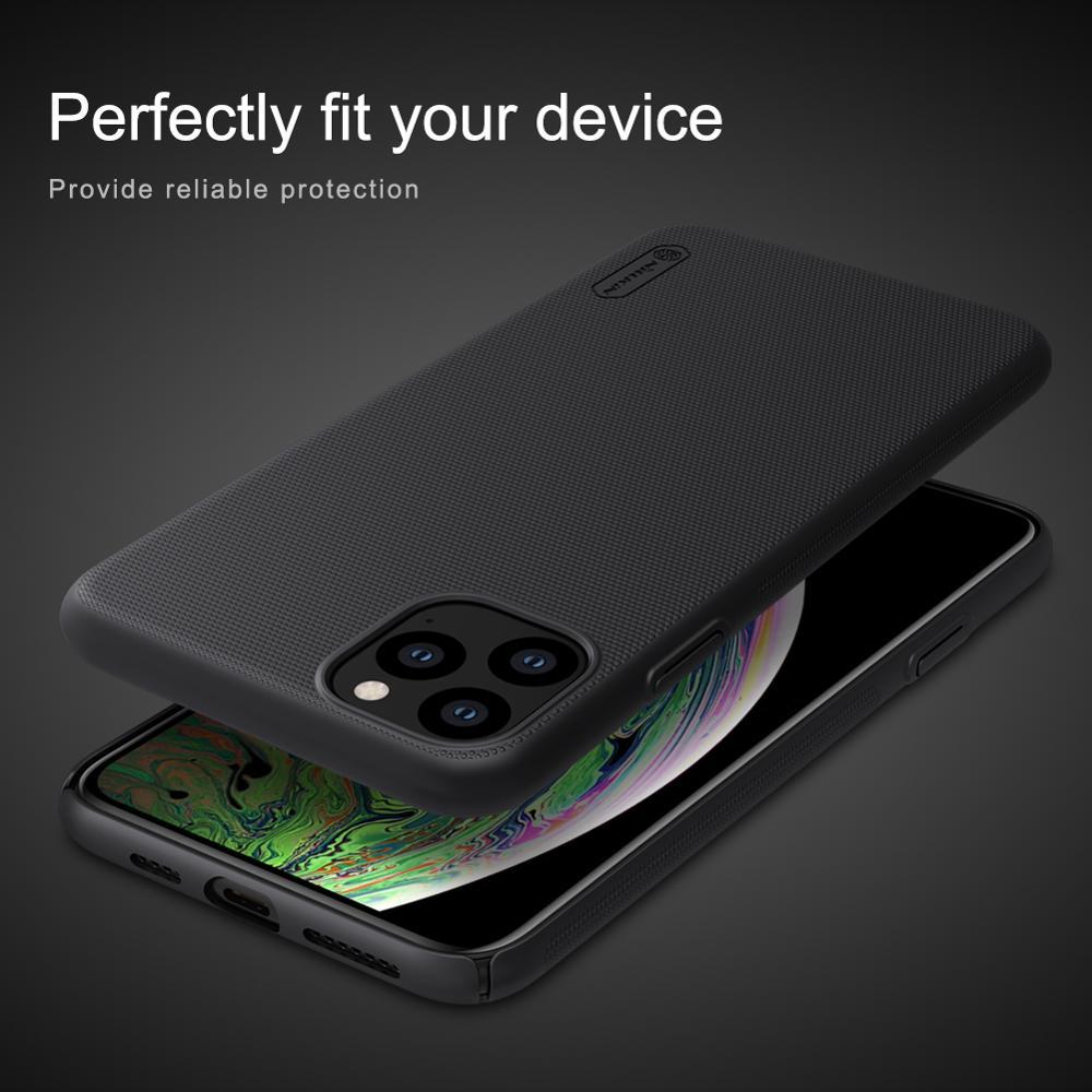 iPhone 11 Pro Max X Xr Xs 8 7 Case Cover Nillkin Frosted Shield Hard - Բջջային հեռախոսի պարագաներ և պահեստամասեր - Լուսանկար 5