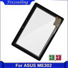 Dla asus memo pad FHD 10 ME302 ME302C ME302KL K005 K00A 5425N FPC-1 ekran dotykowy wymiana szkło Digitizer czujnik Tablet Pc