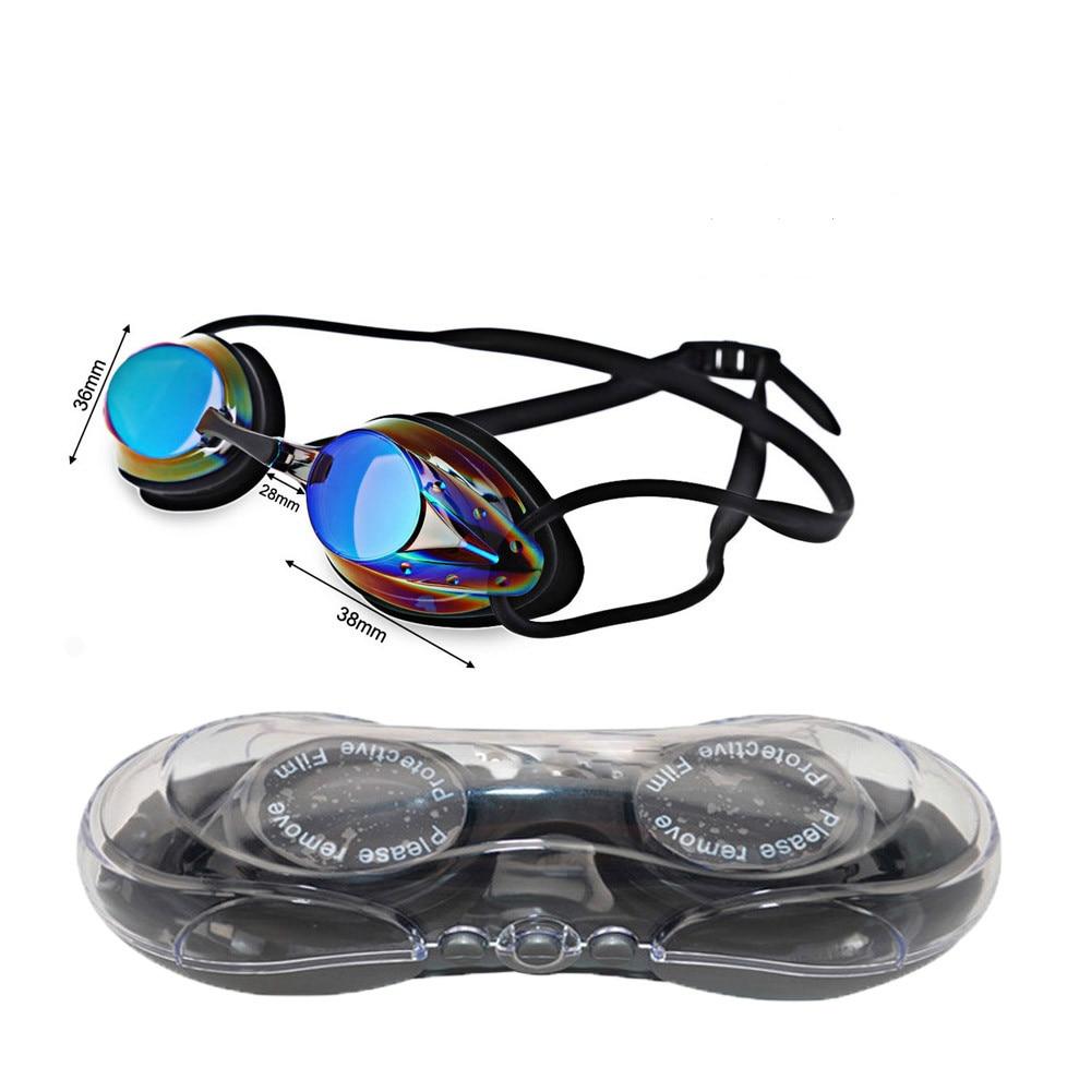 Купить с кэшбэком 2020 Mystyle Swim Goggle Adult Adjustable Electroplating Water Resistant Anti-fog UV Protection Swimming Goggle 6 Colors Eyewear