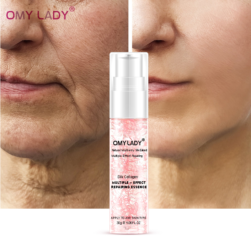 3PCS OMY LADY GrapeSeed Essence Original Vitamin C Serum Face Cream Liquid Essence Delay Aging Reduce Wrinkles Moisturizing Skin