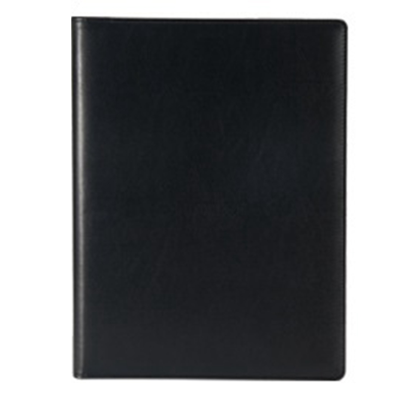 Office Folder A4 Multi-Function Binder Plywood Pu Belt Manager Pin Pin Folder Information Booklet