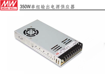 Mean Well LRS-350 series 12V 24V 36V 48V meanwell single output enclosed type Switching Power Supply