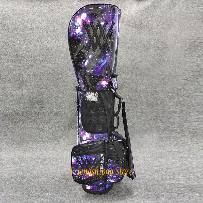 Golf Bags ANEW Golf cart bag Waterproof Big Capacity Packages Multi-Pockets Durable Bag Golf Club Equipments 2 Color 4