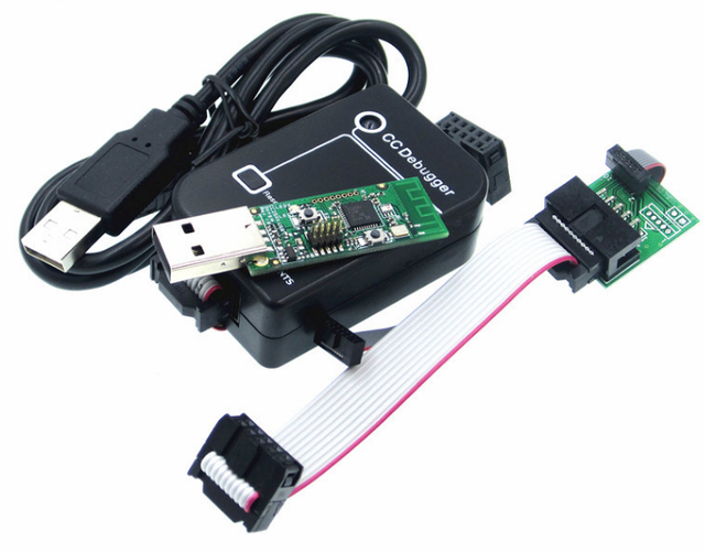 Zigbee placa de circuito impreso inalámbrico, módulo de interfaz USB Dongle, depurador de CC