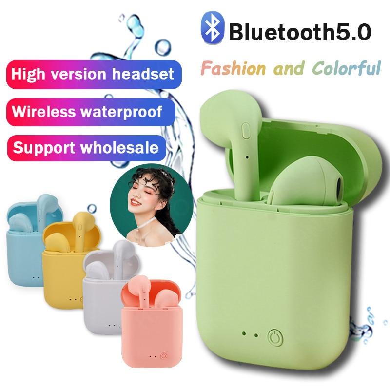 Mini-2 Wireless Headphone Bluetooth Earphones Waterproof Earpieces Sport Earbuds For iPhone Huawei OPPO Xiaomi TWS Music Headset