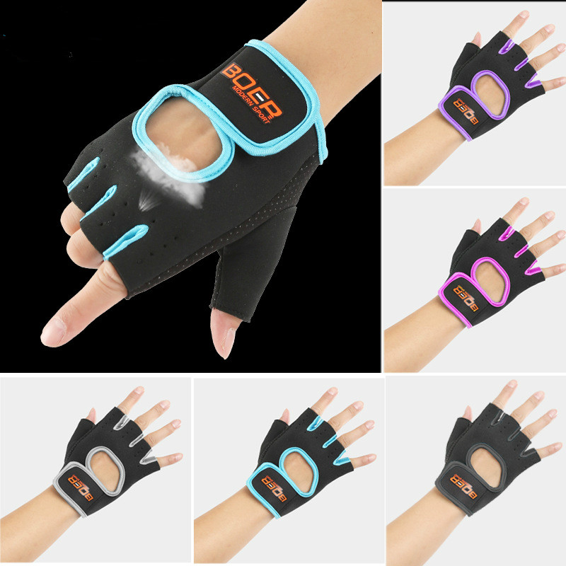 Neoprene Slip-Resistant Body Building Fitness Gloves For Men Women Sports Weight Lifting Gym Training Exercise Workout Crossfit