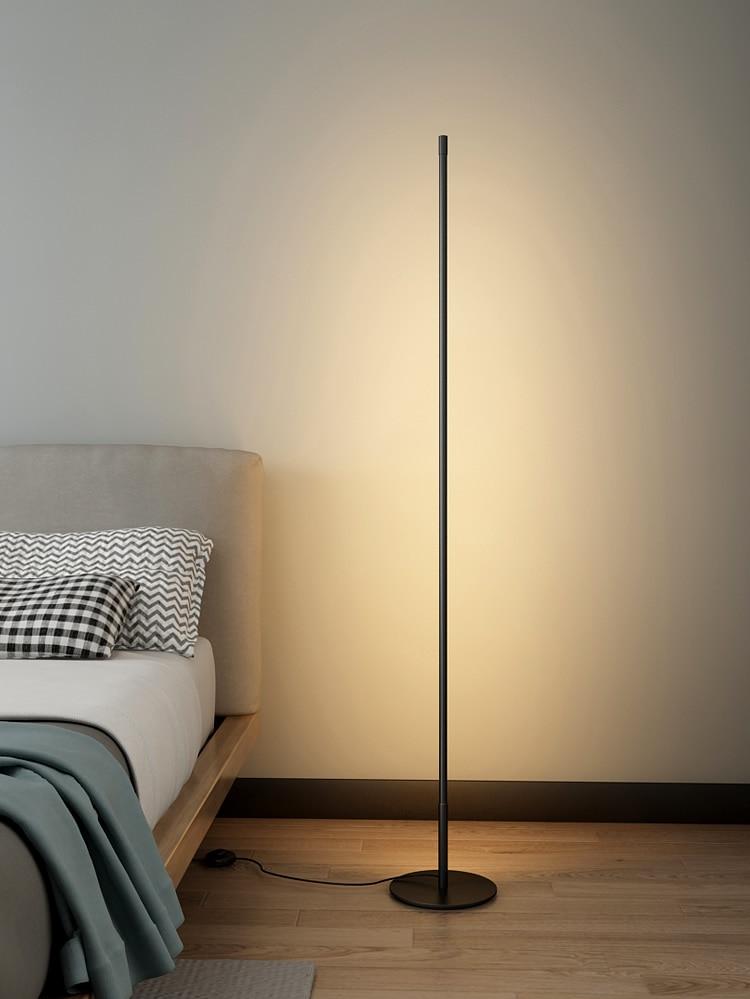 sala estar lâmpadas led em pé casa