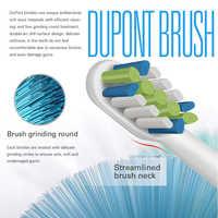 Têtes de rechange de brosse à dents électrique sonique blanchiment des dents avec capuchon de tête de brosse pour XiaoMI SOOCAS X3 SOOCARE brosse à dents électrique