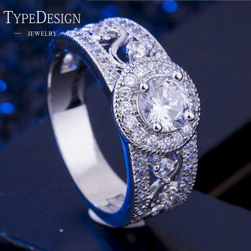Retro Classic Fashion Creative AAA Zirconium Ring For Women Girl Black Titanium Steel Stainless Steel, Mens Rings