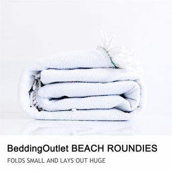 BeddingOutlet Animals Round Beach Towel Equestrian Microfiber Towel England Tradition Horse Riding Picnic Mat Sports Tapestry 6