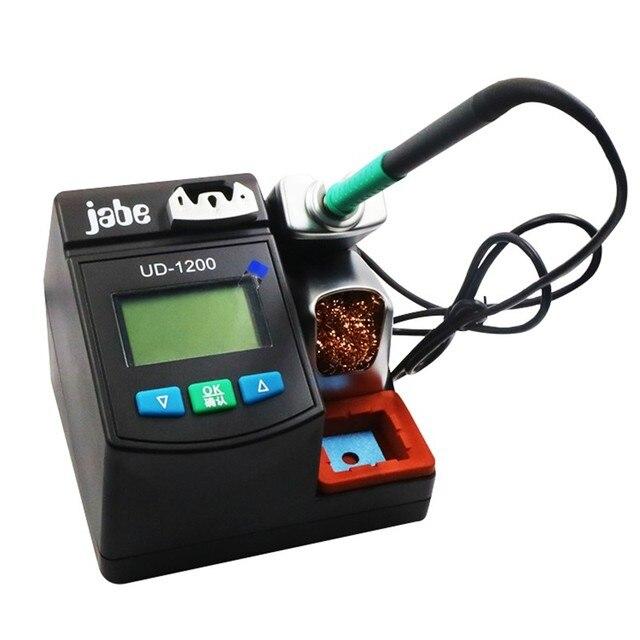 JABE UD1200 Original précision intelligente Station de soudure sans plomb 2.5S Kit de fer de chauffage rapide pour réparation Mobile