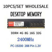 Memory Desktop-Dimm Ram-2400mhz Ddr4 4gb 16GB 8GB 10pcs/Set Factory-Direct-Sales Wholesale