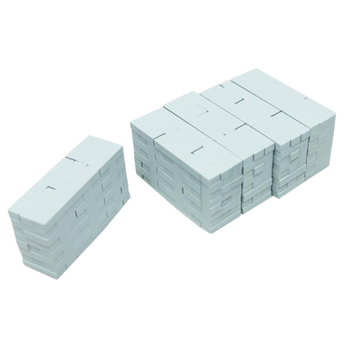 5Pcs/set 1:87 HO Scale Train Model Simulation Train Parts Long/Hollow Bricks DIY Sand Table Building Materials