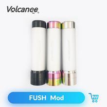 Volcanee FUSH Mechanische Mod 304 Edelstahl Material 510 Gewinde für Fush Nano Kit Vape Mod Elektronische Zigarette Zubehör