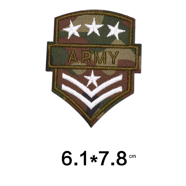 Military Embroidery Patches DIY Clothes Applique Army Embroidery Badges18