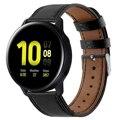 Кожаный ремешок для часов samsung Galaxy Watch Active 2 44 мм 40 мм ремешок для часов браслет из натуральной кожи для Galaxy Watch 42 мм 46 мм