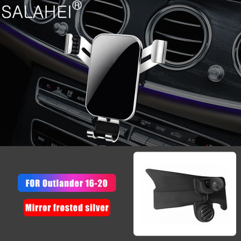 New Car Special Mobile Phone Holder For Mitsubishi Outlander MK3 2016~2020 Telephone GPS Stand Bracket Air Vent Auto Accessories image