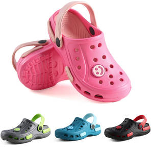 SLIPPERS SHOES MULES CROC GARDEN GIRL BABY BOY BEACH KIDS SUMMER CHILDREN FOR 24-25/26/27/..
