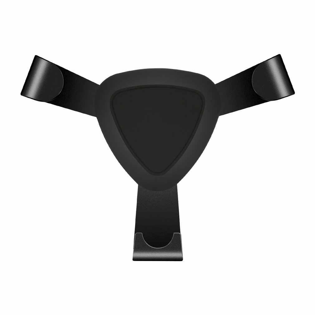 Keburukan Baru Logam Dudukan Telepon Mobil Udara Vent Gunung Auto Clamping Linkage Disesuaikan Mobile Phone Holder untuk Mobil Stand Bracket