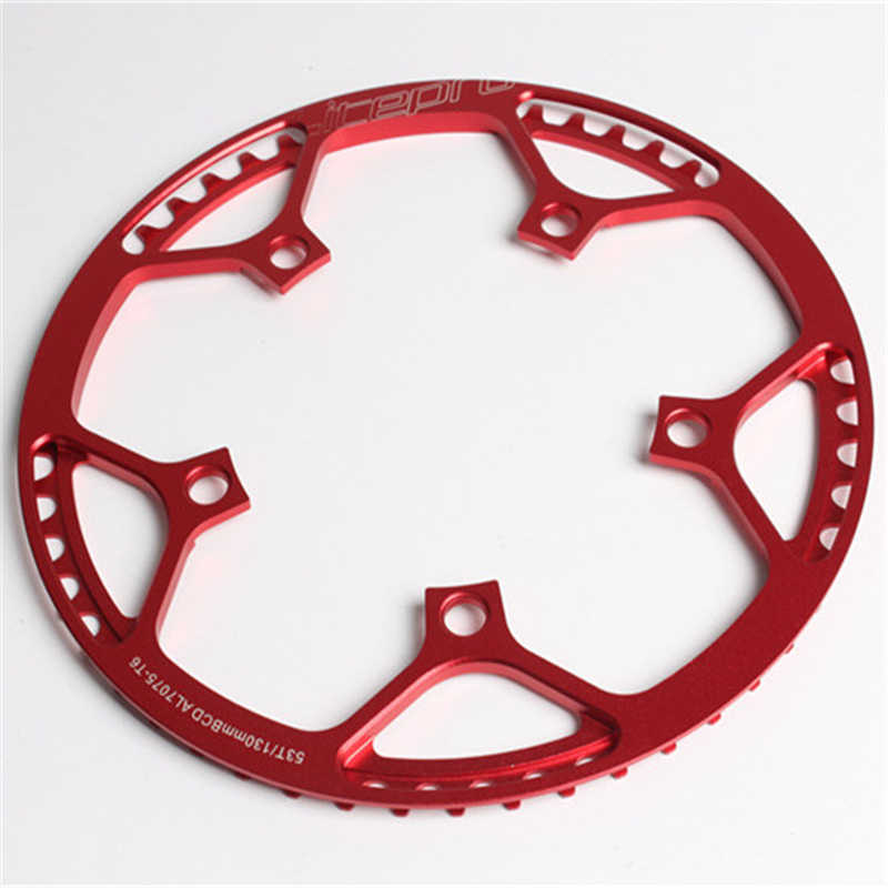 Litepro Bicycle Chainring 45//47//53//56//58T BCD 130mm Folding Bike With Guard