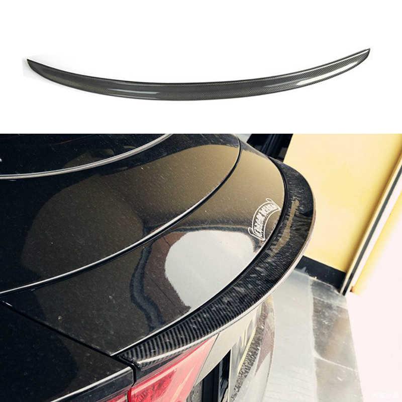 A7炭素繊維リアトランクスポイラーウイングリップアウディA7 2011-2014車のスタイリング