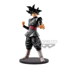 Tronzo Original Banpresto Dragon Ball Legends Collab Goku Black LC Zamasu PVC Action Figure Model Toys DBZ Goku Black Hair Toys