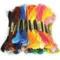 Многоцветная нить 8 шт.  Аналогичная dmc Вышивка крестиком  хлопковый набор для шитья  Набор для вышивки нитью  инструменты для шитья своими ру...