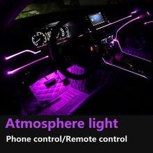 Цветная (rgb) светодиодный полоски окружающей среды светильник