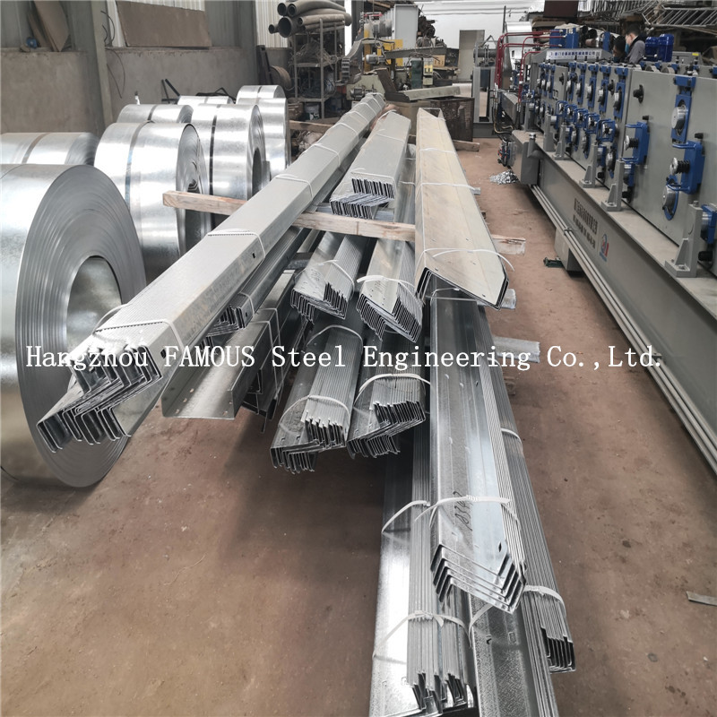 2.4mm Australia New Zealand Standard DHS Galvanized Steel Purlins Girts Exported To Oceania