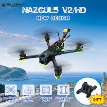 iFlight Nazgul5 V2 Nazgul5 HD zangão de corrida FPV de 5 polegadas 4-6S Freestyle RC w/ Câmera Caddx Ratel e controlador de vôo SucceX-E F4 Brinquedos quadricópteros RC Helicoptero