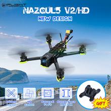 iFlight Nazgul5 V2 Nazgul5 HD 5-calowy dron wyścigowy 4-6S Freestyle RC FPV w Kamera Caddx Ratel i kontroler lotu SucceX-E F4 Zabawki RC Helicoptero Quadcopter tanie tanio REALACC CN (pochodzenie) As show 4K UHD Mode1 Mode2 8 KANAŁÓW 12 + y Oryginalne pudełko Instrukcja obsługi Camera Kabel USB
