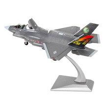 1:72 avião americano F-35B diecast avião de metal, lutador, avião, brinquedos, avião, modelo, kit presente para crianças, menino, aniversário