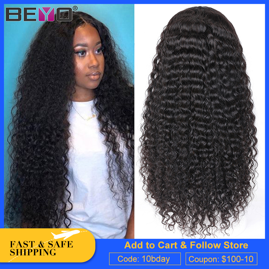 Brazilian Water Wave Wig 13X6 Curly Lace Front Wig 360 Lace Frontal Wig Pre Plucked With Baby Hair Remy Glueless Human Hair Wigs