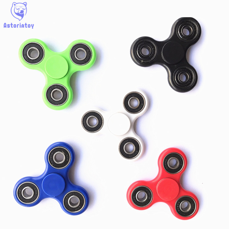 New 6 Colour Luminous Effect     -Spinner Fidget Toy Plastic EDC Hand Spinner For Autism  Reliever Spiral Gifts Toys For Child